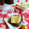 Brown Butter Figgy Pudding