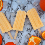 Easy tangelo creamsicles