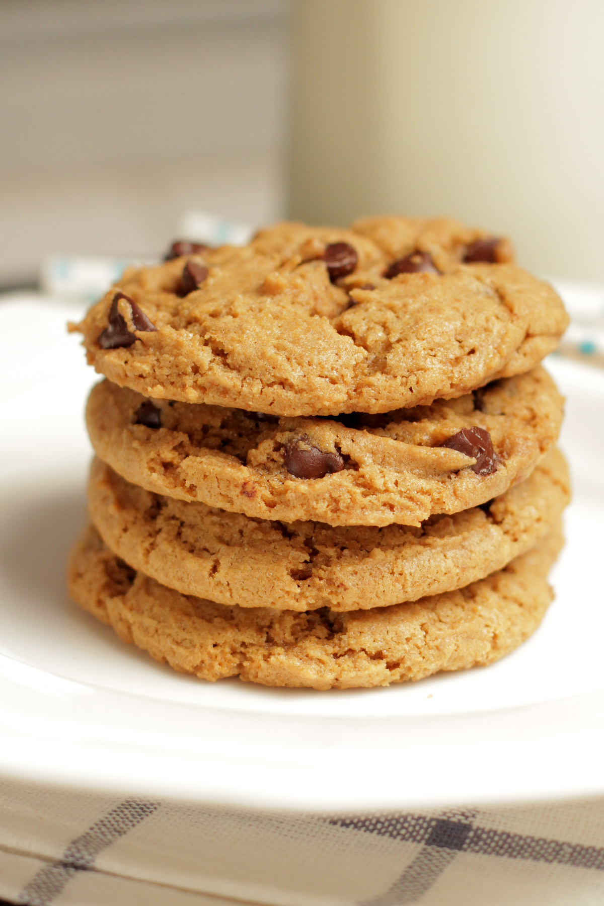 Chewy Whole Wheat Chocolate Chip Cookies