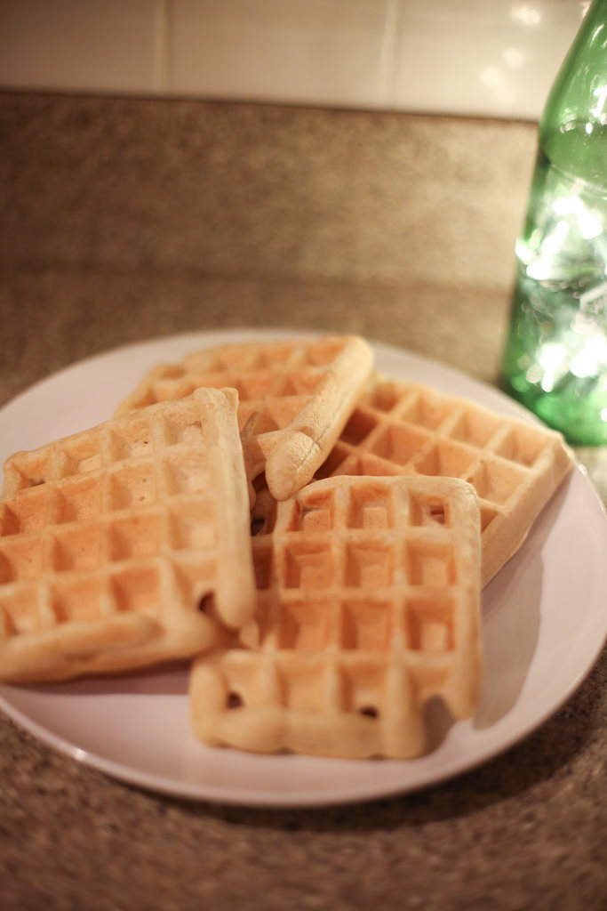 Soft and Crispy Belgian Waffles